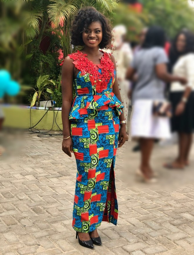 Martha Ankomah served us Aprican Print style goals