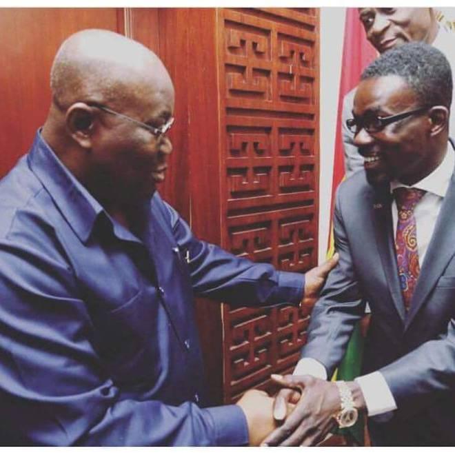 Nana Appiah Mensah and Nana Akufo Addo