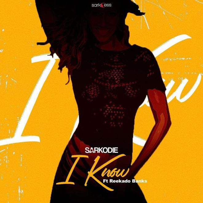 "Sarkodie 's ""I Know"" cover artwork"