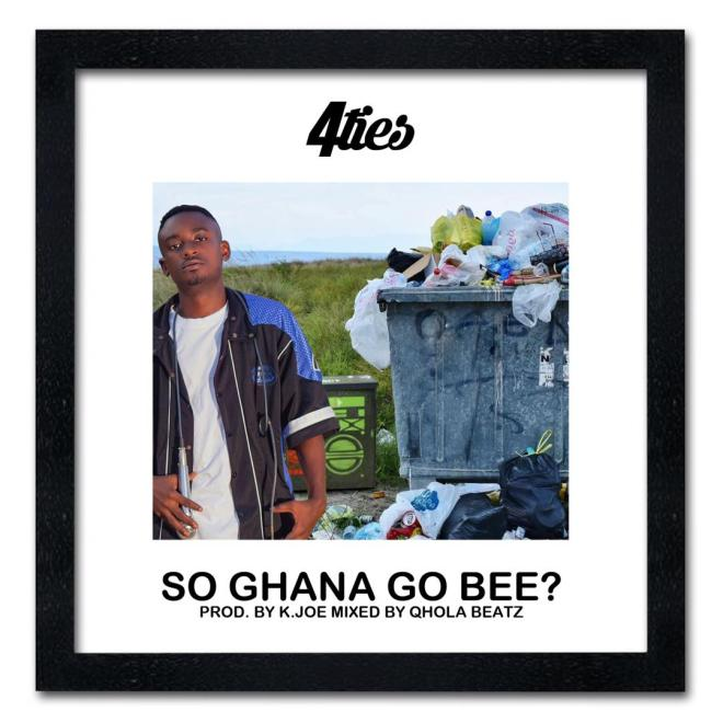 "4ties' ""So Ghana Go Be"" artwork"