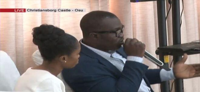 National Security officer Bright Abakosem aka Double