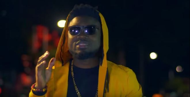 "Donzy in ""How Far"" music video"