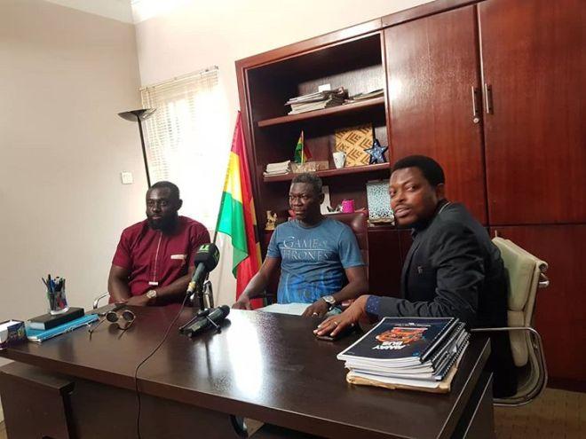Kofi Asamoah, Agya Koo and Peter Sedufia