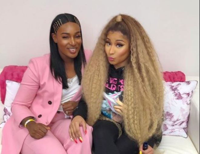 Nicki Minaj and Nana Fofie