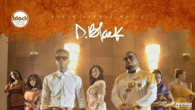D-Black and KiDi in Obi Ba music video