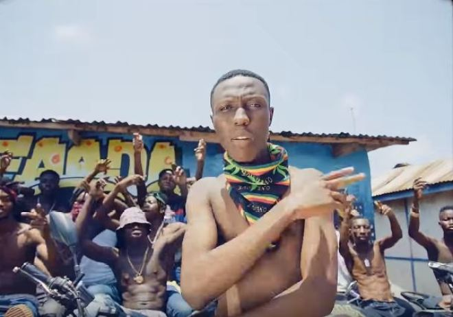J Derobie in Irie music video