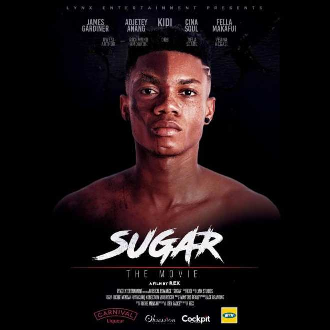 "KiDi's ""Sugar"" album and movie poster"