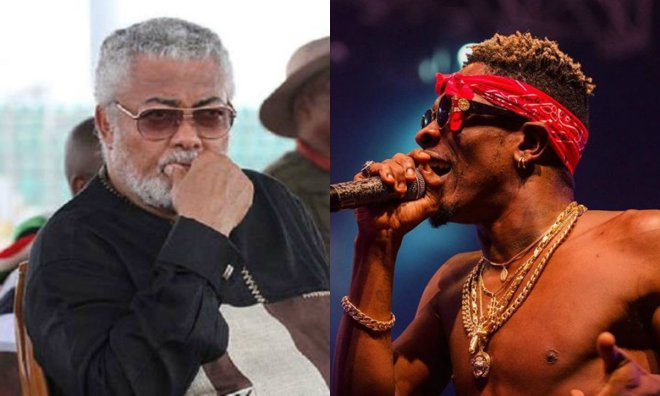 President Rawlings and Shatta Wale