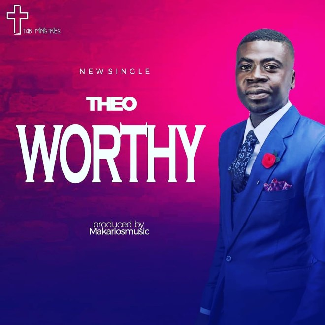 """Theo's """"Worthy"""" cover artwork"""