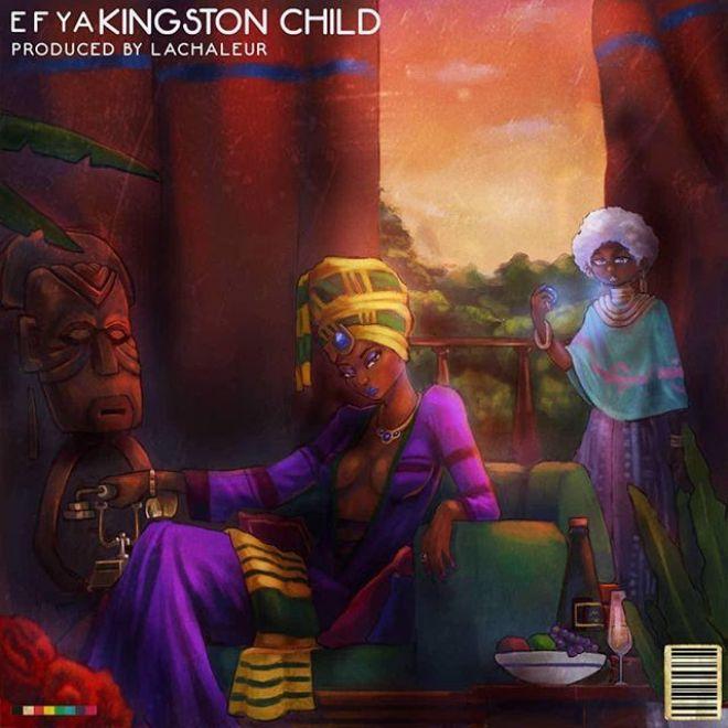 Efya's Kingston Child cover artwork