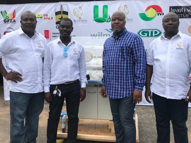 Kwami Sefa-Kayi donates incubator to 37 Military Hospital