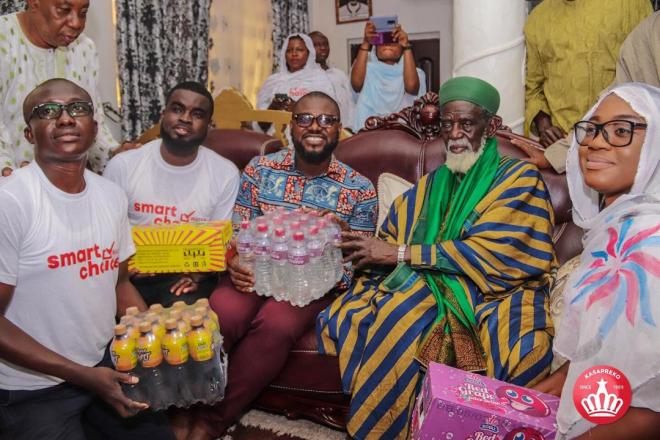 Kasapreko donates to Chief Imam to mark Eid-ul-Fitr