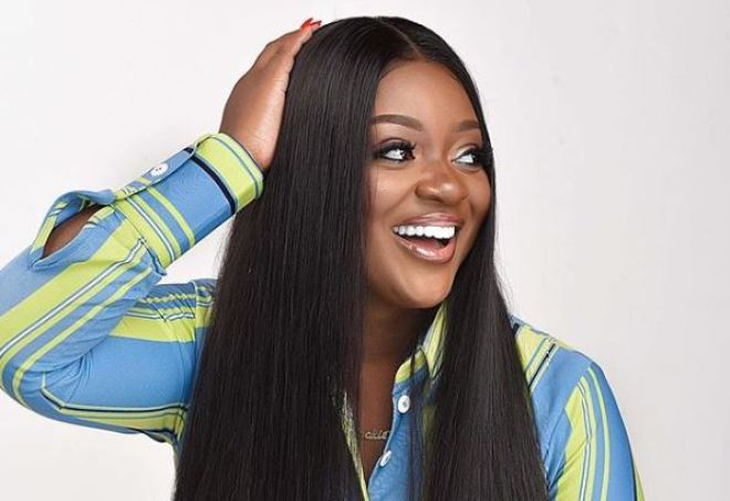 Jackie Appiah in long sleeve