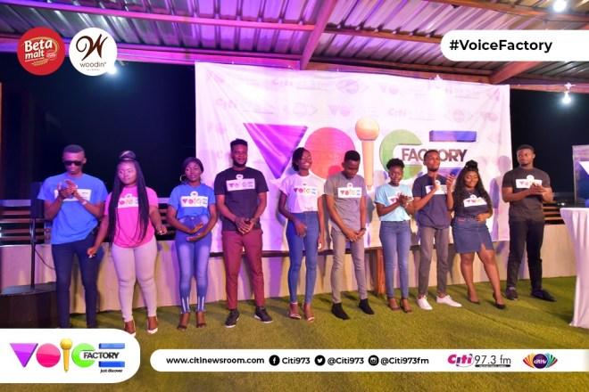 Voice Factory contestants