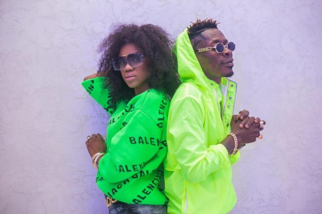 """Becca and Shatta Wale in """"Driving License"""" music video"""