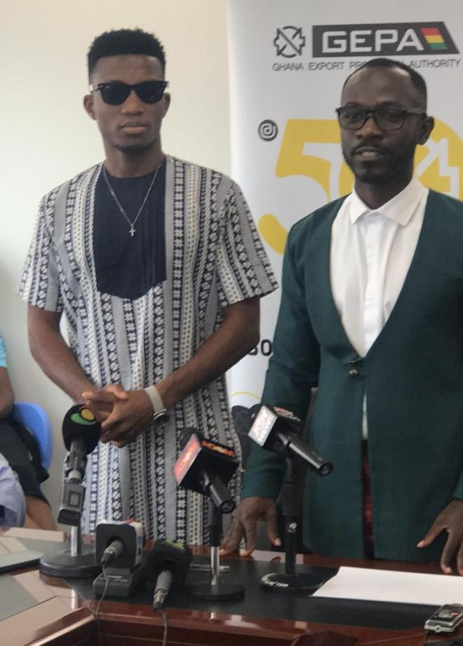 Okyeame Kwame and Kofi Kinaata