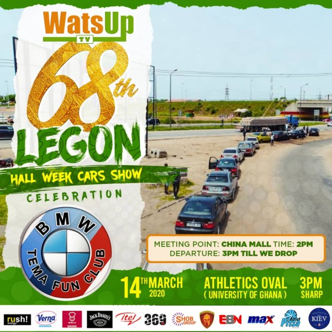 WatsUp TV 68th Legon Hall Week (BMW)