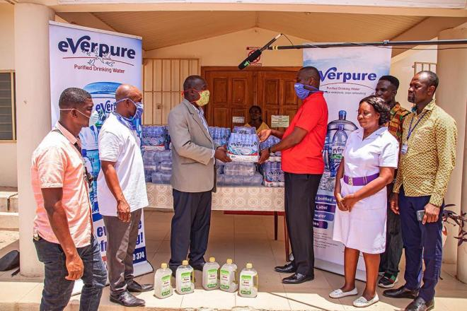 Everpure Ghana Limited supports frontline service providers to fight COVID-19