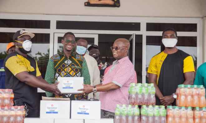 Kasapreko donates to Manhyia Palace