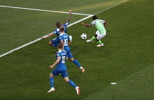 Nigeria 2-0 Iceland REPORT as Ahmed Musa hits double in World Cup 2018 Group D clash in Volgograd