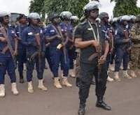 Heavy military, police presence in Ho, 10 Suspected secessionists in court