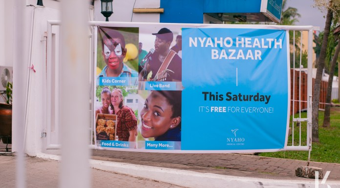 Nyaho Medical Center Health Bazaar