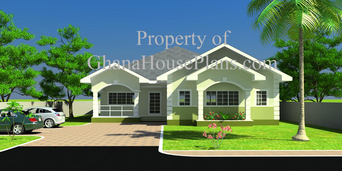 Ghana House Plans – Cece House Plan