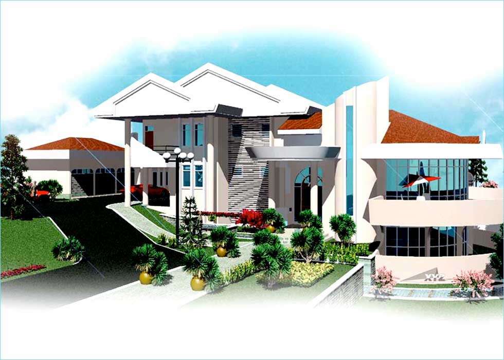 10 Bedrooms House Plan with 10 Bathrooms and 3 Car Garage