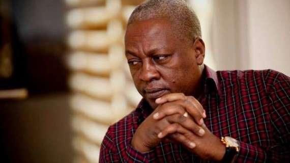 Akufo-Addo is having sleepless nights – Mahama