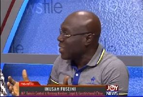 Who aside Mahama should have been projected during the Unity Walk? – Inusah Fuseini quizzes