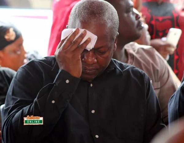 Use KABA's death to look into Ghana's health care delivery – Mahama
