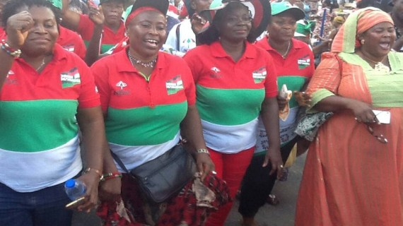 Greater Accra NDC Women's Wing Wish Ghanaians Merry Christmas And Happy New Year