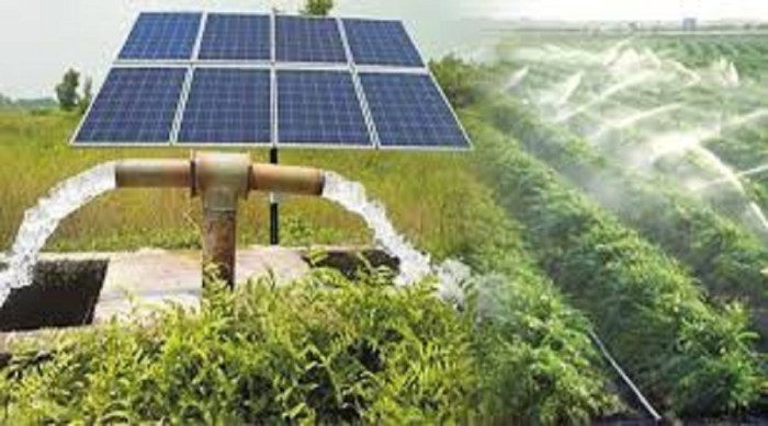 Solar irrigation pump launched for farmers