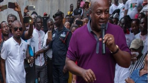 Mahama slams government over 'high cost' of fuel
