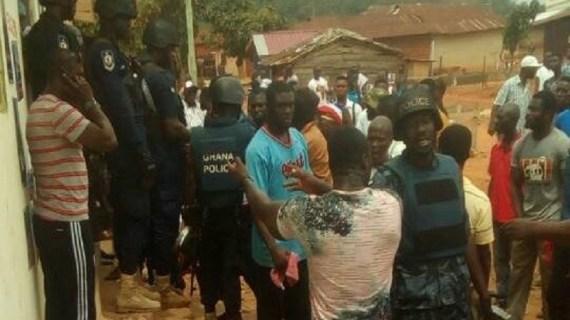Gunshot at NPP Polls
