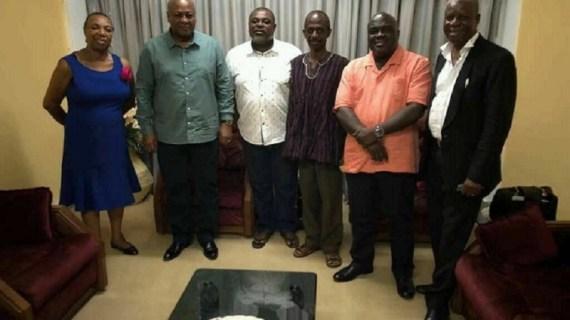 BNI director sacked over Mahama-Koku Anyidoho photo?