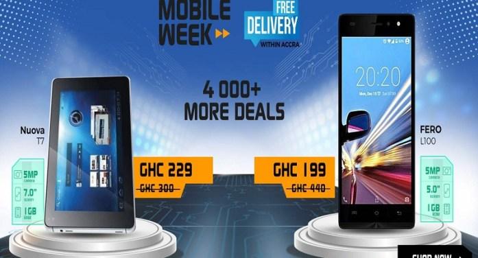 Cheap smartphones below 500ghc  #JumiaMobileWeek