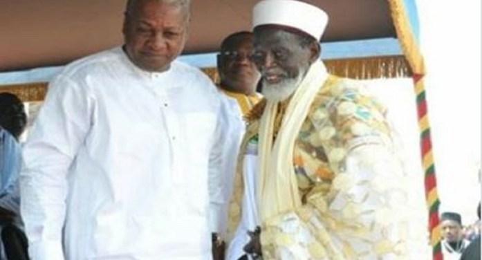 John Mahama celebrates Chief Imam on his 99th birthday