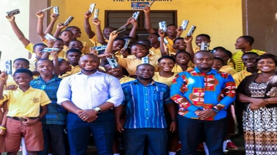 Philanthropist donates Mathsets to School Pupils in Subin