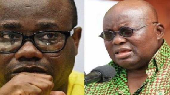 GFA officials threaten to 'deal with' Nana Addo If Nyantakyi Is maltreated
