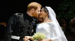 Harry and Meghan wed in a ceremony unlike any other in British royal history