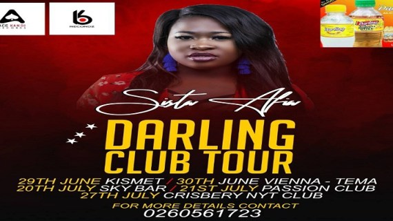 """Sista Afia Leads Slay Queens With Her """"Darling Club Tour"""""""