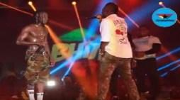 Stonebwoy performs with Asamoah Gyan at Ghana Meets Naija 2018