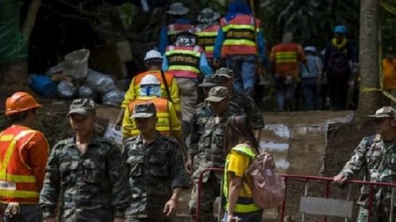 Diver dies in Thailand cave rescue attempts