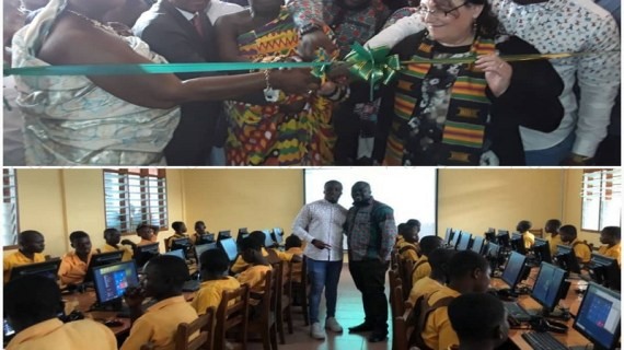 Two US NGOs Build Yamoransa Model ICT Lab for Betenase Community