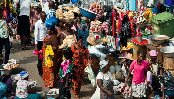 Business Booms On Festive Season in Dormaa-Ahenkro