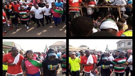 Ablekuma Central NDC Unity Walk Causes Stir