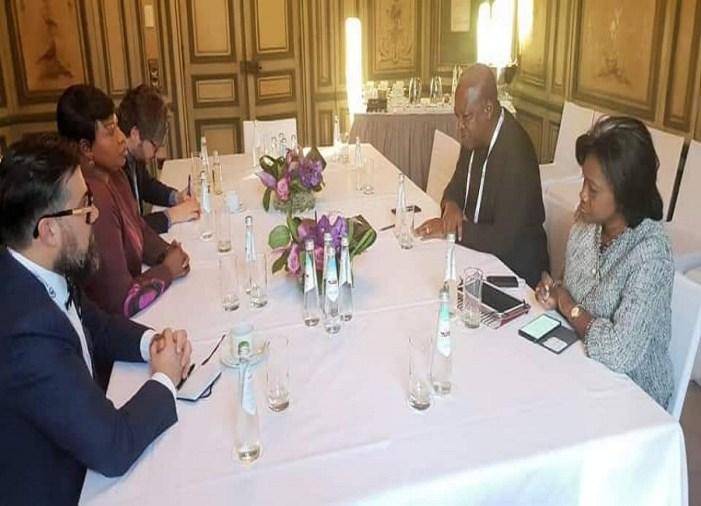 John Mahama meets ICC's Fatou Bensouda