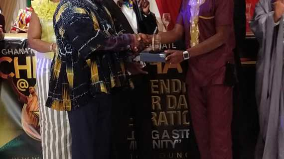 Mr. Candy Ghana among others  Wins 2 Awards Within 3 Months In Chicago , USA
