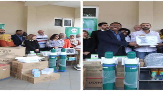Korle-Bu Child Cancer Centre Receives Medical Equipment